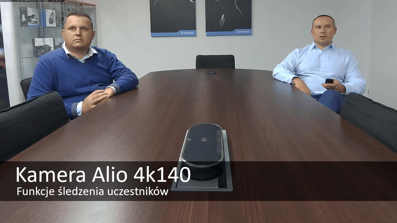 alio 4k kamera śledząca